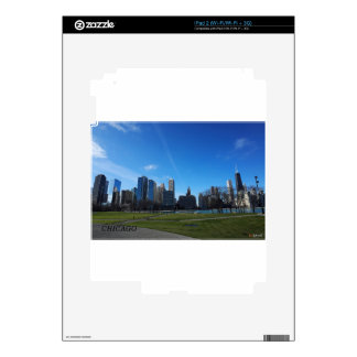 Chicago -The Lake Michigan iPad 2 Skin