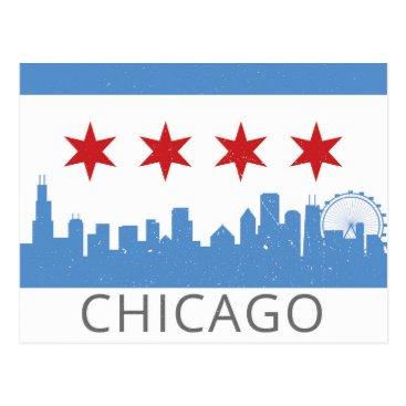 MoosePrintStudio Chicago: The Windy City Postcard