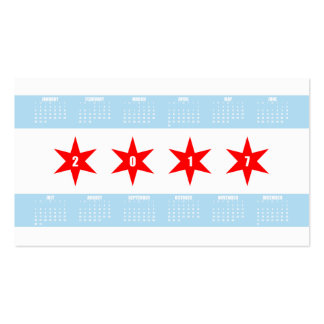 Chicago Flag Business Cards & Templates