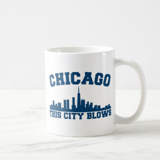 Chicago: This City Blows Classic White Coffee Mug