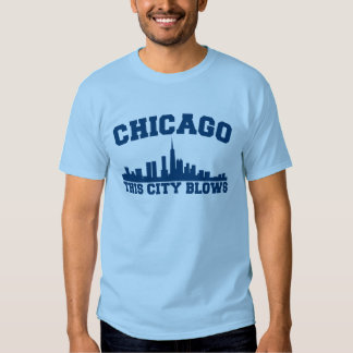 Chicago: This City Blows T Shirt