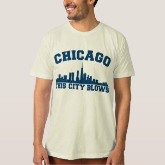 Chicago: This City Blows Tee Shirt