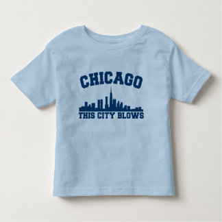 Chicago: This City Blows Toddler T-shirt