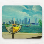 Chicago through cateyes mousepad