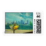 Chicago through cateyes postage