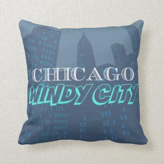 Chicago Throwpillow Pillow