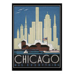 Chicago tiene todo impresión del vintage impresiones