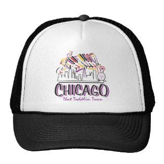 CHICAGO-TODDLIN-TOWN TRUCKER HAT