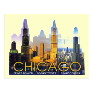 CHICAGO TORRE SEARS POSTALES
