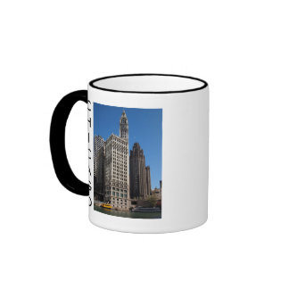 Chicago Tower Cup Ringer Coffee Mug