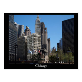 Chicago Towers Postcard