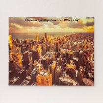 Chicago Town Michigan. Jigsaw Puzzle
