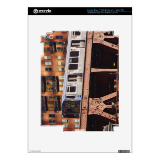 Chicago Train at Riverbend Skin For iPad 3