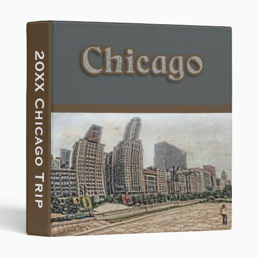Chicago Travel Itinerary Binder