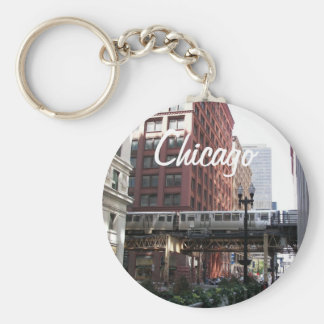 Chicago Travel Photo Keychain