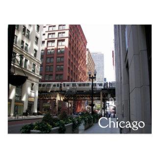 Chicago Travel Photo Postcard