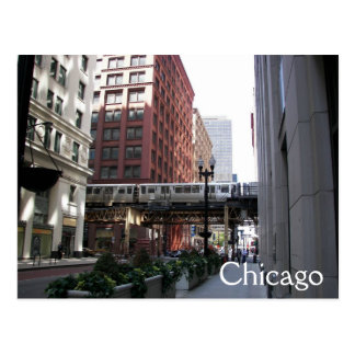 Chicago Travel Postcard