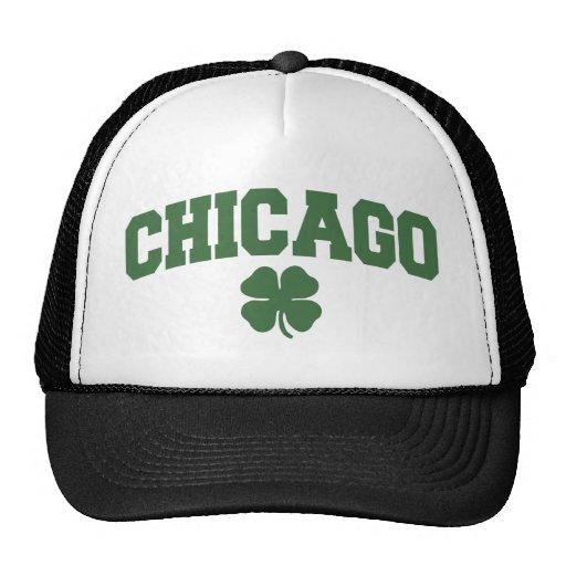 Chicago (trébol irlandés) gorras de camionero