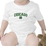 Chicago (trébol irlandés) trajes de bebé