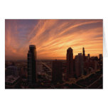 Chicago Twlight Greeting Cards