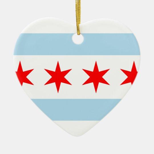 Chicago, United States Ceramic Ornament