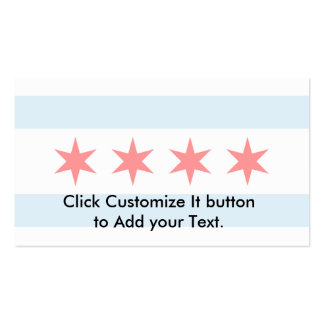 Chicago, United States Double-Sided Standard Business Cards (Pack Of 100)