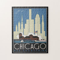 Chicago Vintage jigsaw Puzzle