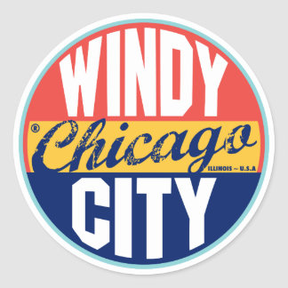 Chicago Vintage Label