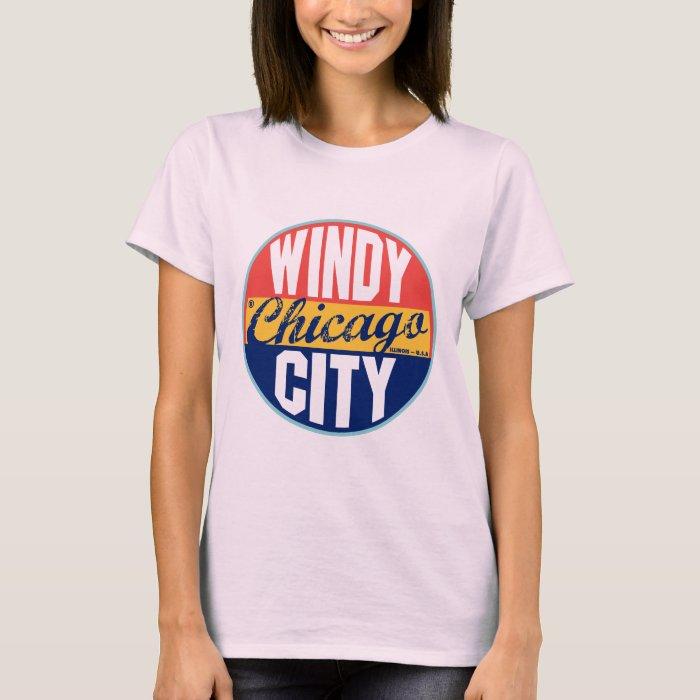 Chicago Vintage Label T-Shirt