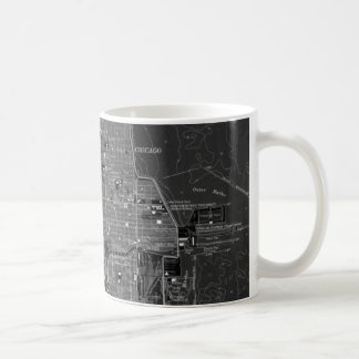 Chicago Vintage Map Coffee Mug