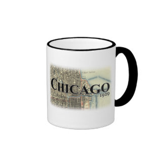 Chicago Vintage Map Mug