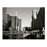 Chicago - visiónes desde la ciudad ventosa postal
