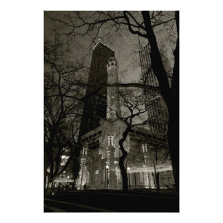 Chicago Water Tower B W Photograph