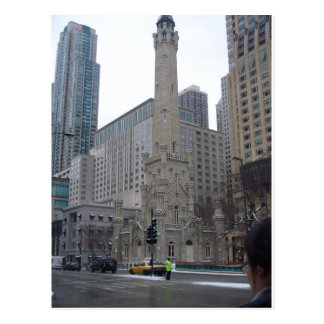 Chicago Water Tower Postcard
