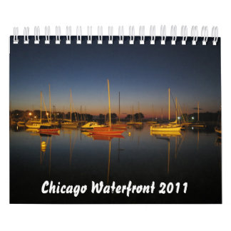 Chicago Waterfront 2011 Calendar
