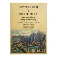 Chicago Wedding Invitation Illinois