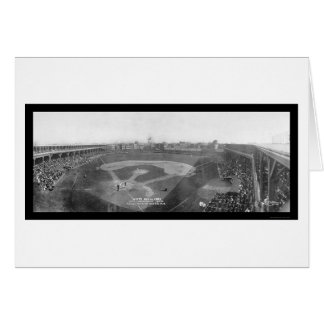 Chicago White Sox Cubs Photo 1909 Card
