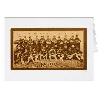 Chicago White Sox Team 1913 Card