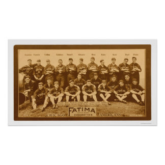 Chicago White Sox Team 1913 Print