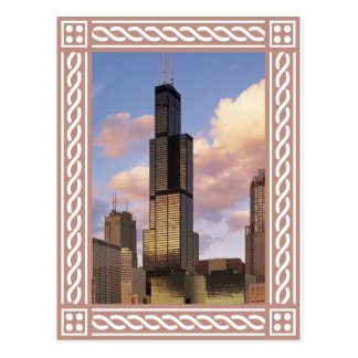Chicago - Willis Tower - Sears Tower Postcard