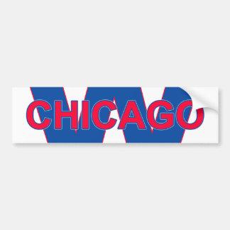Chicago Win Bumper Sticker