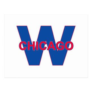 Chicago Win Postcard