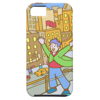 Chicago Windy City Cartoon iPhone 5 Cover