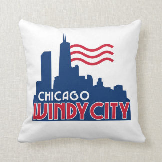 Chicago Windy City Pillows