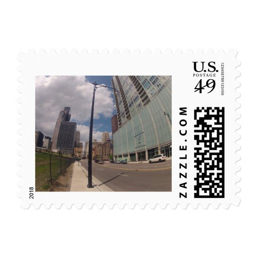 chicago windy city postage stamps