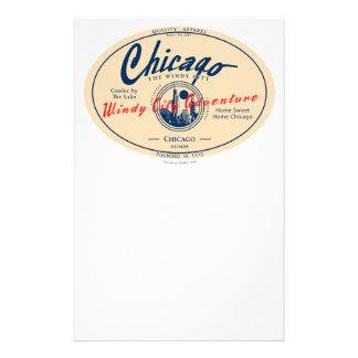 Chicago Windy City Stationery