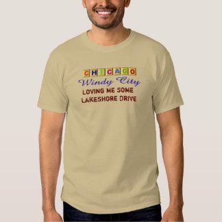 Chicago Windy City _T-shirt Tee Shirts