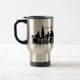 Chicago Winters Also Known As ChiBeria 15 Oz Stainless Steel Travel Mug