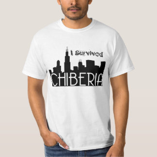 Chicago Winters Also Known As ChiBeria T-Shirt