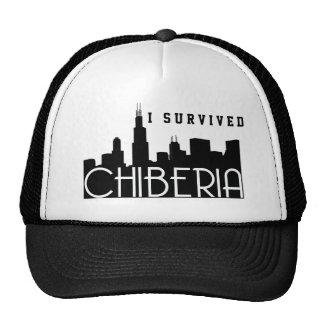Chicago Winters Also Known As ChiBeria Trucker Hat